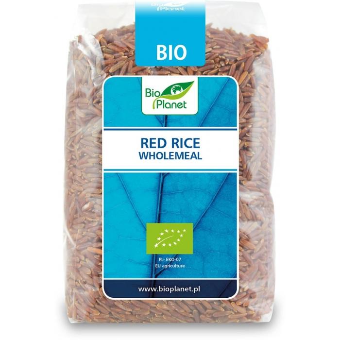 Sarkanie rīsi pilngraudu BIO 500g