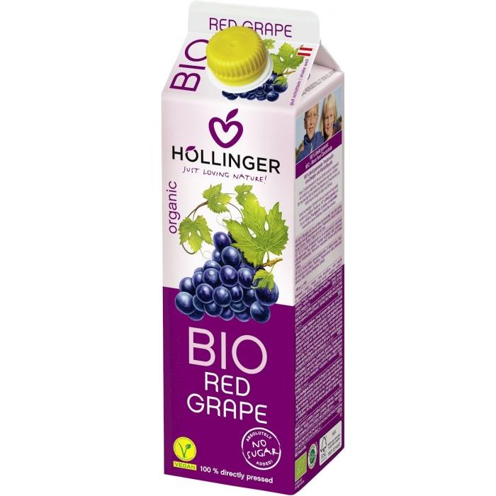 Sarkano vīnogu sula BIO 1l