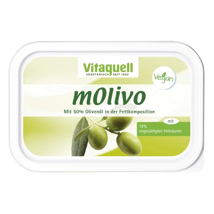 Saulespuķu margarīns ar olīveļļu, BIO, VITAQUELL, 250g