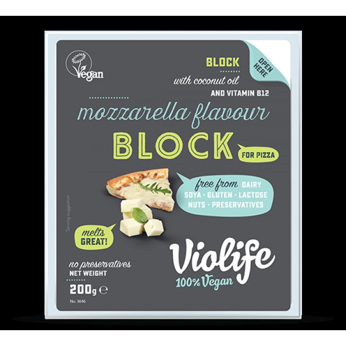 Siera alternatīva – picai ar mocarellas garšu, bloks, VIOLIFE, 200g