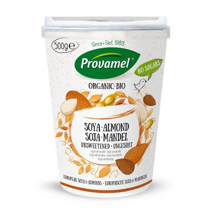Sojas - mandeļu jogurts, BIO, PROVAMEL, 500g
