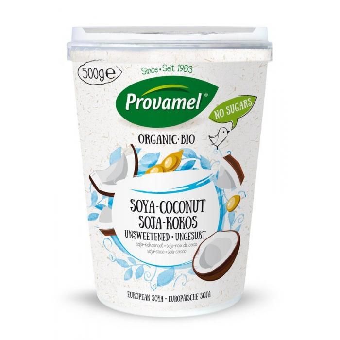 Sojas jogurts ar kokosriekstiem, nesaldināts, BIO, PROVAMEL, 500g