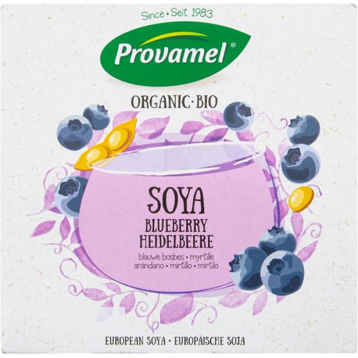 Sojas jogurts ar mellenēm BIO 4x125g