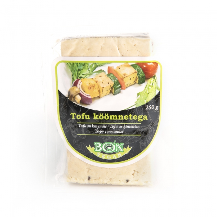 Tofu ar ķimenēm, BON SOYA, 250g