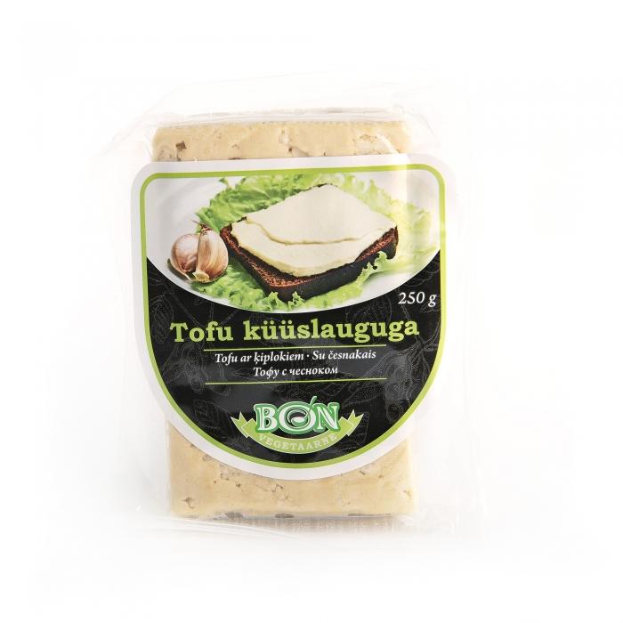 Tofu ar ķiplokiem, BON SOYA, 250g