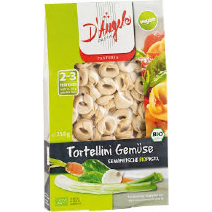 Tortelīni ar dārzeņiem BIO 250g