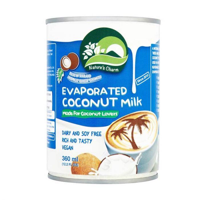 Tvaicētais kokosriekstu piens, saldināts 360ml