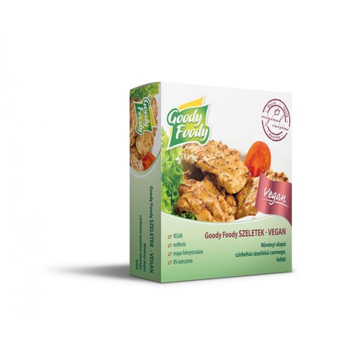 Vegāniska alternatīva vistas gaļai, GOODY FOODY, 145g