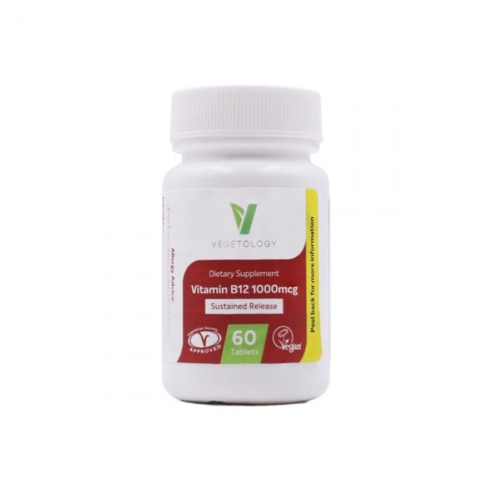 Vitamin B12 1000 mcg VEGETOLOGY 60 tabl.