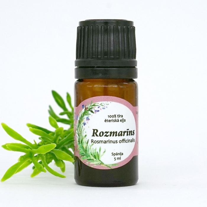 Rozmarīna ēteriskā eļļa AROMAMA 5 ml